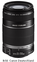 Canon EF-S 55-250mm 1:4-5.6 IS