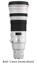 Canon EF 500mm 1:4L IS II USM