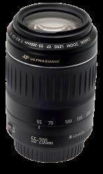 Canon EF 55-200mm 1:4.5-5.6 II USM