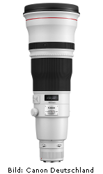 Canon EF 600mm 1:4L IS II USM