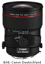 Canon TS-E 24mm 1:3.5L II