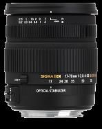 Sigma 17-70mm F2,8-4 DC MAKRO OS HSM