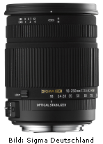 Sigma 18-250mm F3.5-6.3 DC OS HSM