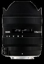 Sigma 8-16mm F4,5-5,6 DC HSM