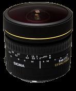 Sigma 8mm F3,5 EX DG Zirkular Fisheye